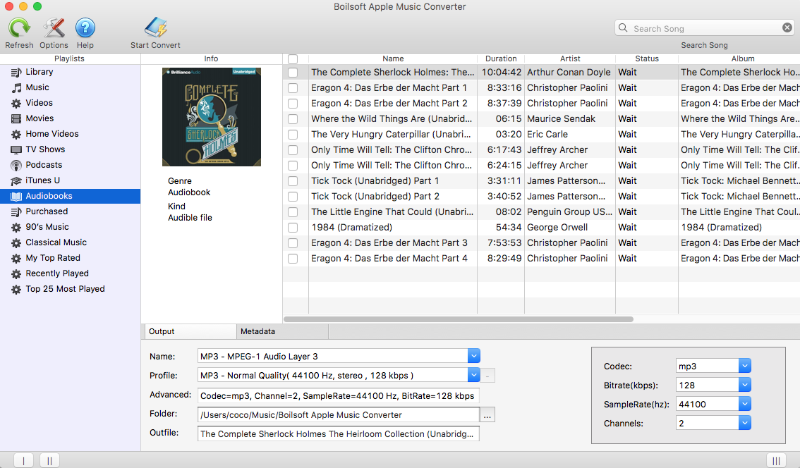 iTunes Audiobook DRM Removal - Remove DRM from iTunes Audiobooks