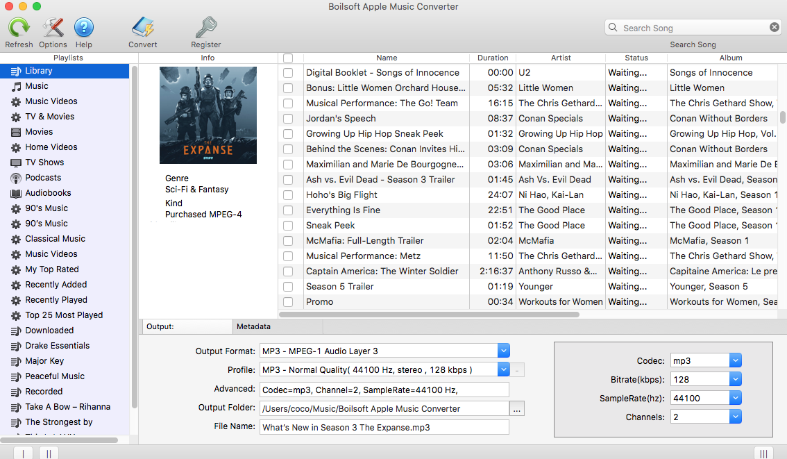 convert m4a to mp3 large files