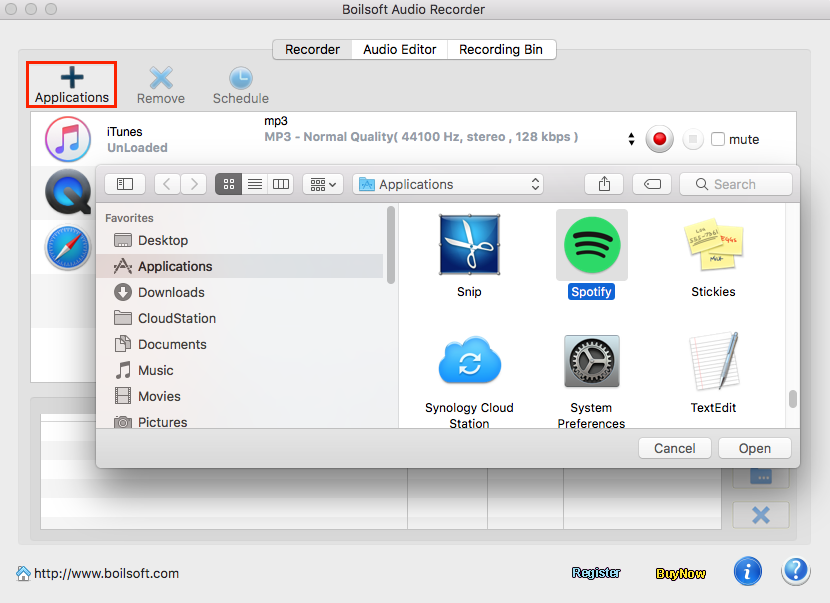 How to Record Audio from applications On Mac OS by Boilsoft