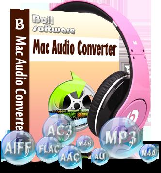 Boilsoft Audio Converter for Mac - Provides best audio