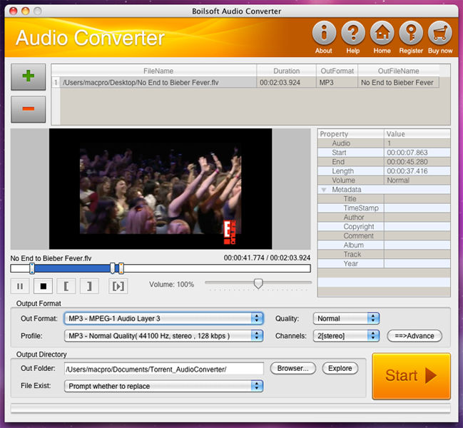 how to change mp4 to mp3 on mac