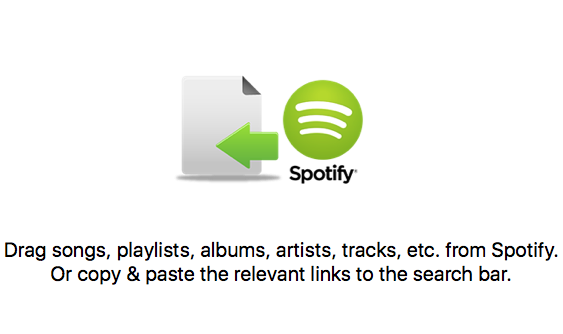 Spotify web player or App
