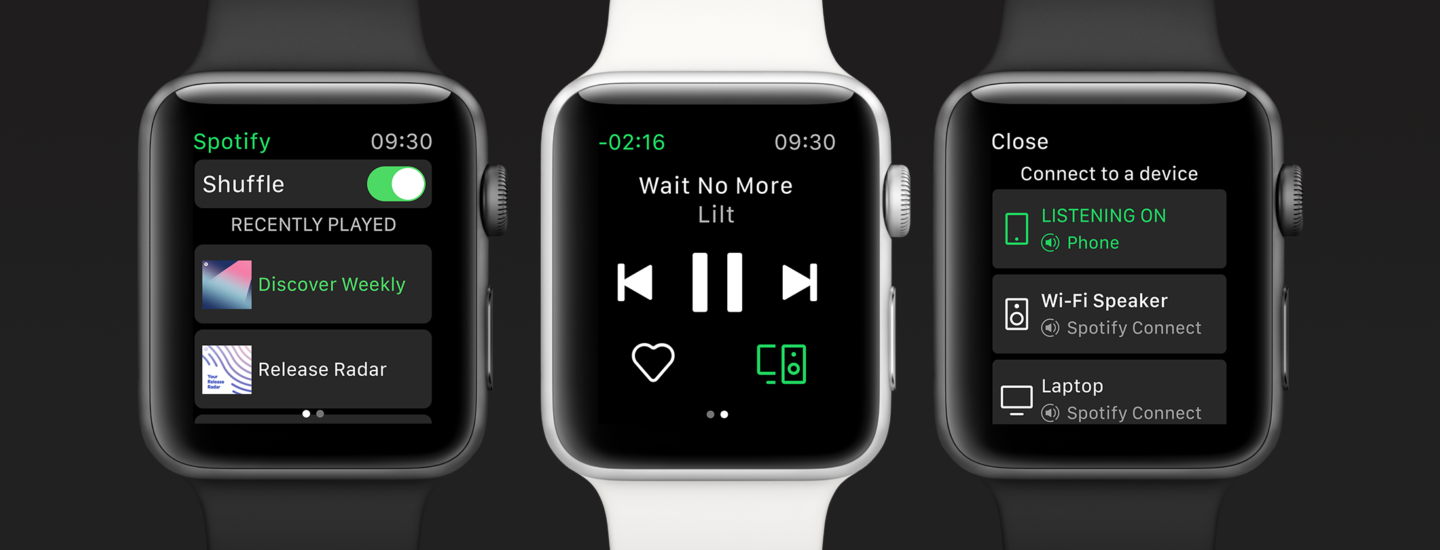 spotify apple watch app released without offline playback